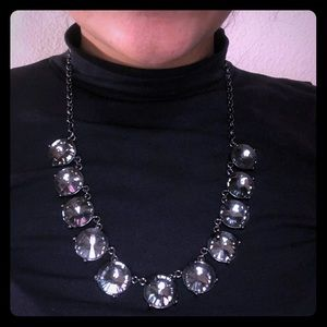 Silver/Gray Chain Necklace